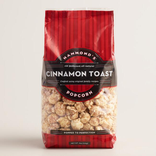 Hammonds Sweet Cinnamon Toast Popcorn