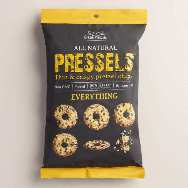 Pressels Everything Pretzel Chips