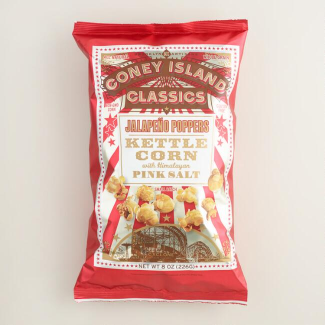 Coney Island Jalapeno Poppers Kettle Corn