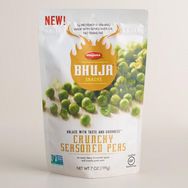 Bhuja Crunchy Seasoned Peas