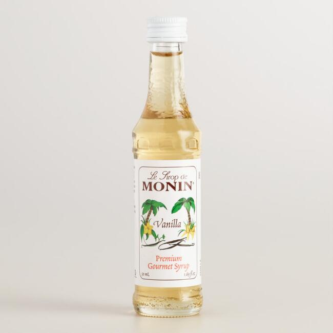 Monin Mini Vanilla Syrup
