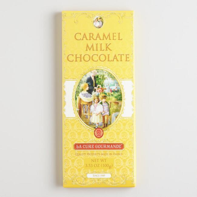 La Cure Gourmande Caramel Milk Chocolate Bar