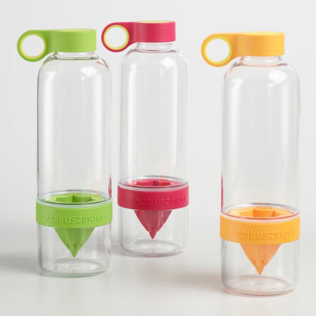 Citrus Zinger Infuser Bottle