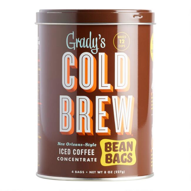 Grady's Cold Brew Bean Bag Can 4 Count