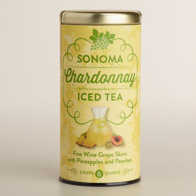 The Republic of Tea Sonoma Chardonnay Iced Tea, 6 Count
