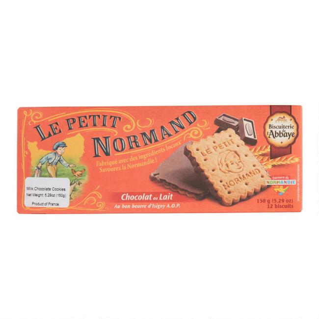 Le Petit Normand Chocolate Covered Cookies