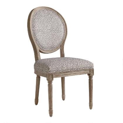 Charcoal Mali Paige Round Back Dining Chairs Set
