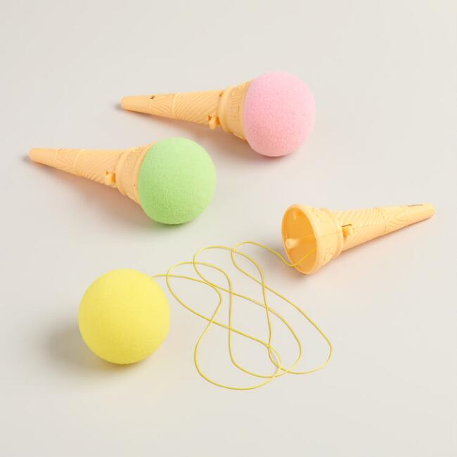 Ice Cream Cone Poppers Set of 3