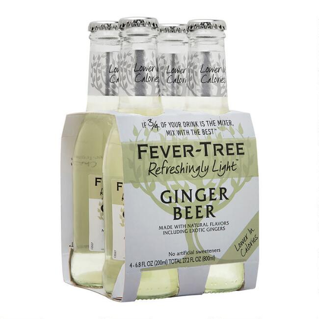 Fever Tree Light Ginger Beer Set of 6