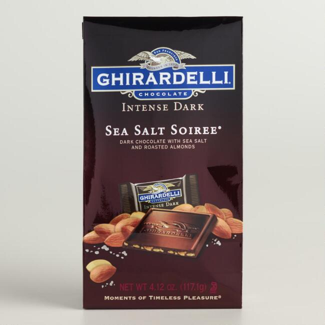 Ghirardelli Intense Sea Salt Dark Chocolate