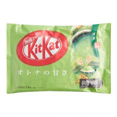 Nestle Kit Kat Matcha Green Tea Wafer Bars Bag