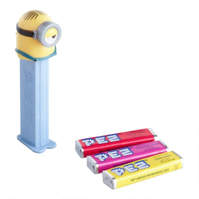 Pez Minion Character Dispenser and Candy