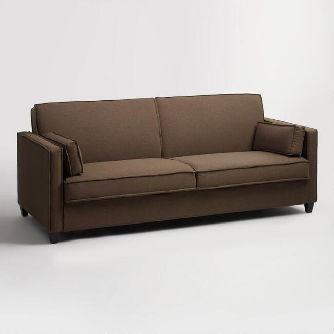 Chocolate Brown Nolee Folding Sofa Bed