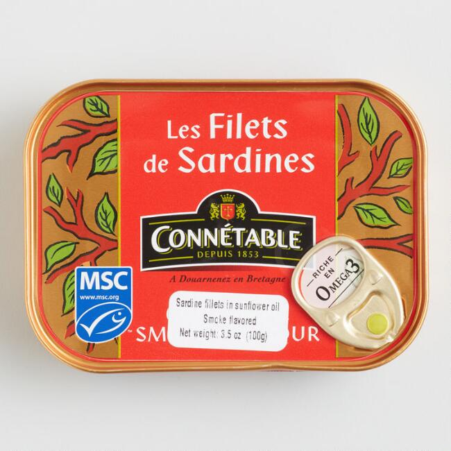 Connetable Smoked Sardines