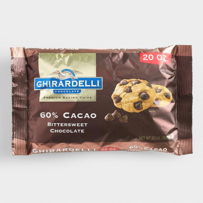 Ghirardelli 60% Cacao Bittersweet Chocolate  Chips