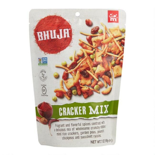 Bhuja Snacks Cracker Mix Set of 6