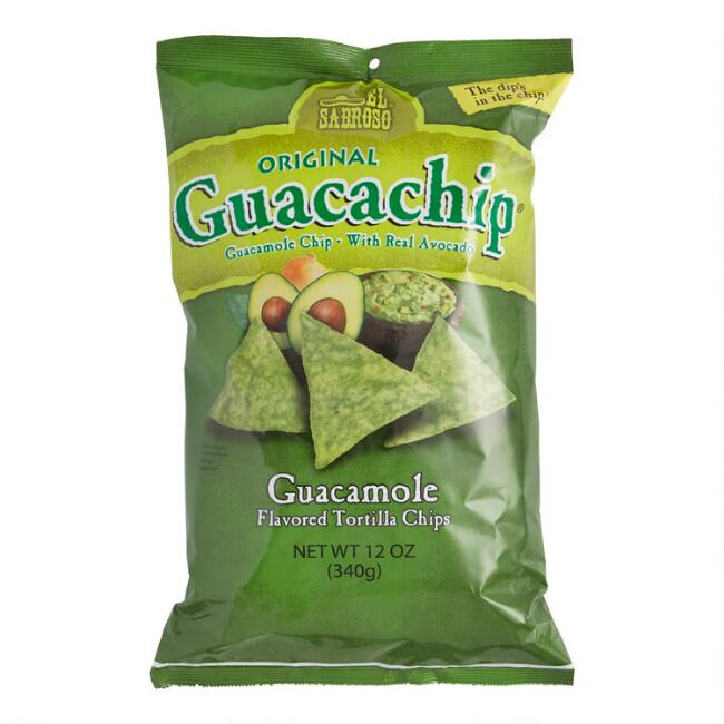 El Sabroso Guacachip Tortilla Chips Set of 12
