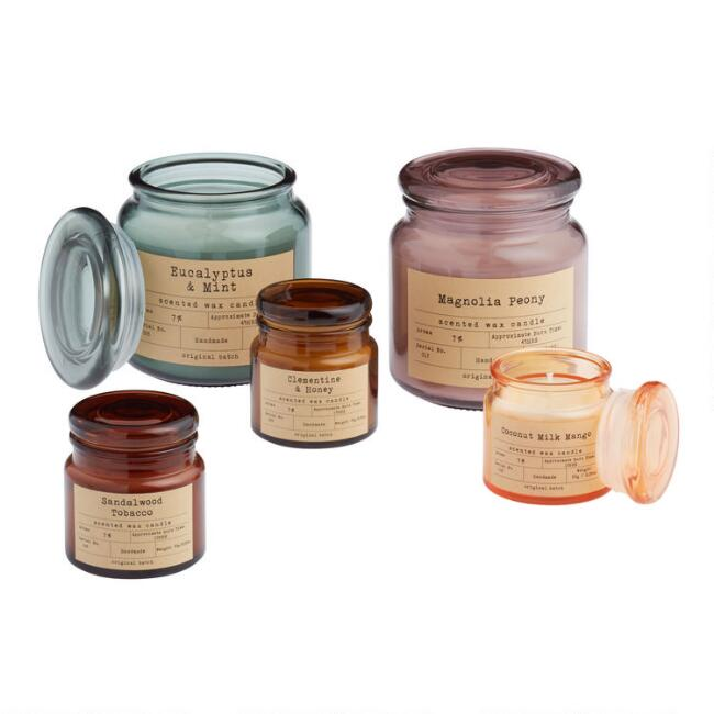 Apothecary Filled Jar Candle Collection