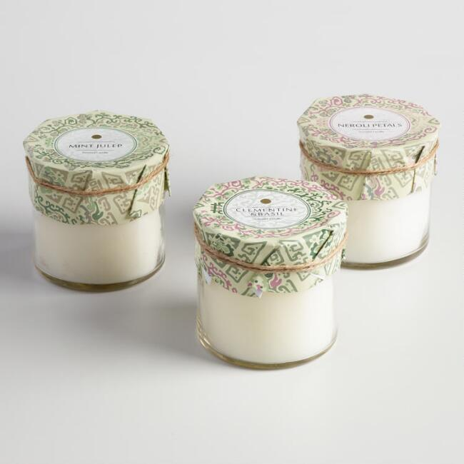 Beijing Tile Jar Candle Collection