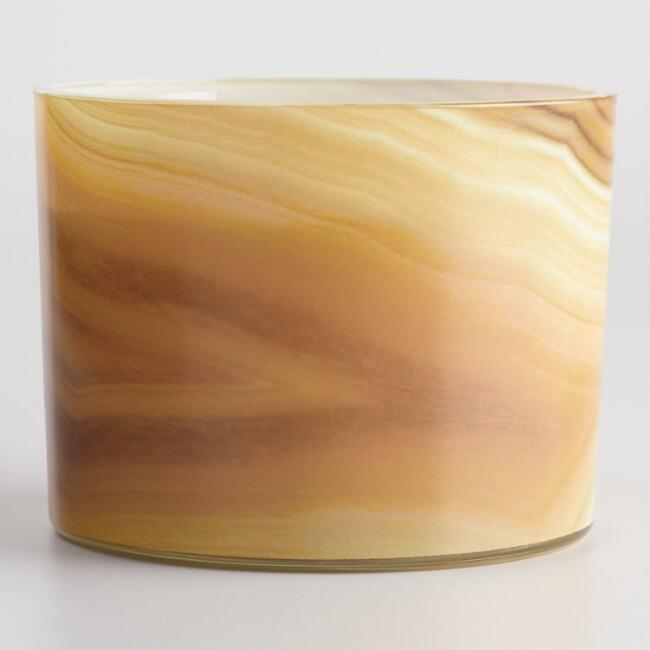 Cashmere Woods and Tonka Bean Agate Jar Candle