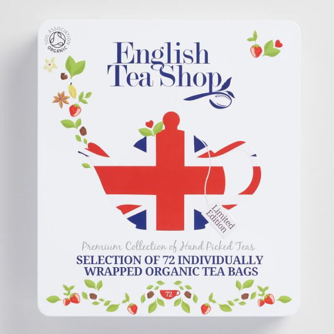 English Tea Shop Union Jack Tea 72 Count