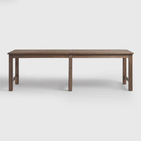 Extra long dining tables extra long dining tables extra for Extra small dining table