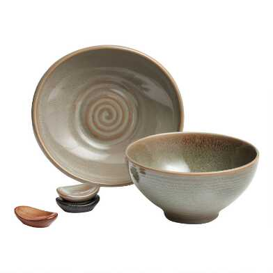 Green Zen Dinnerware Collection