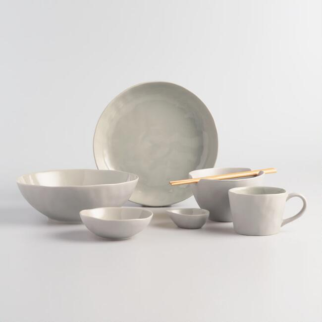 Stone Gray Element Dinnerware Collection