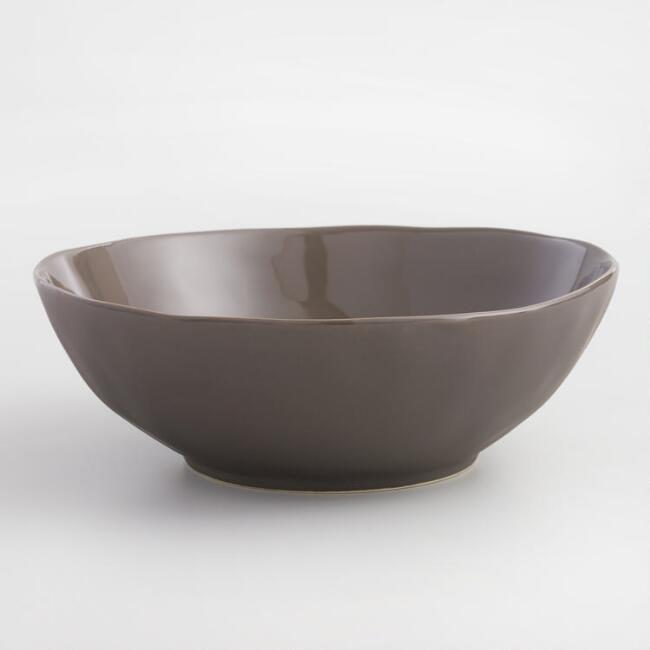 Charcoal Element Salad Bowls Set Of 4