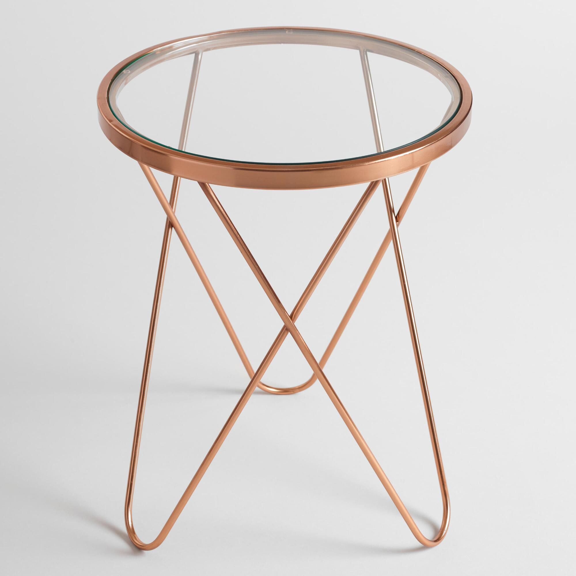 gold products accessories tables kimana accent table