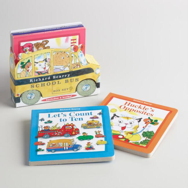 Richard Scarry's School Bus Boxed Set