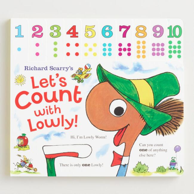 Richard Scarry's Let's Count with Lowly!