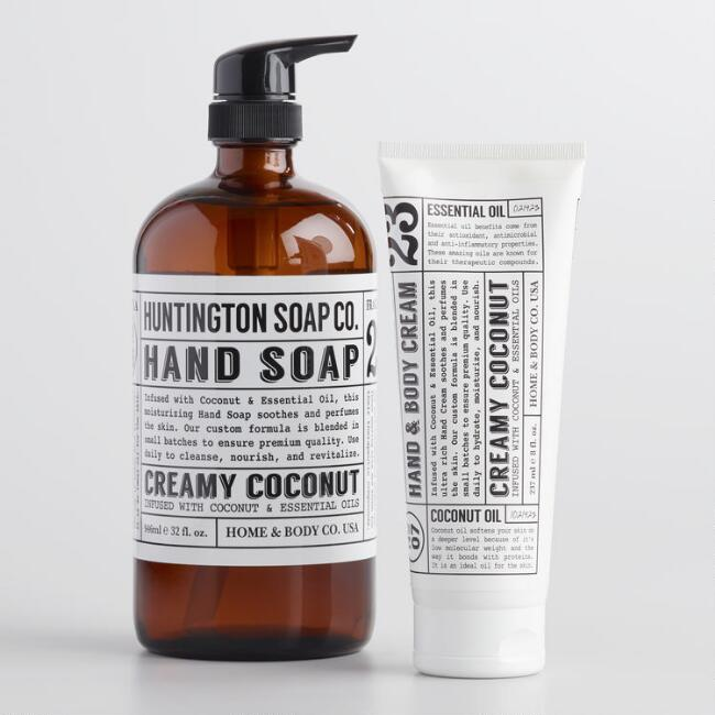 Huntington Coconut Hand Care Collection