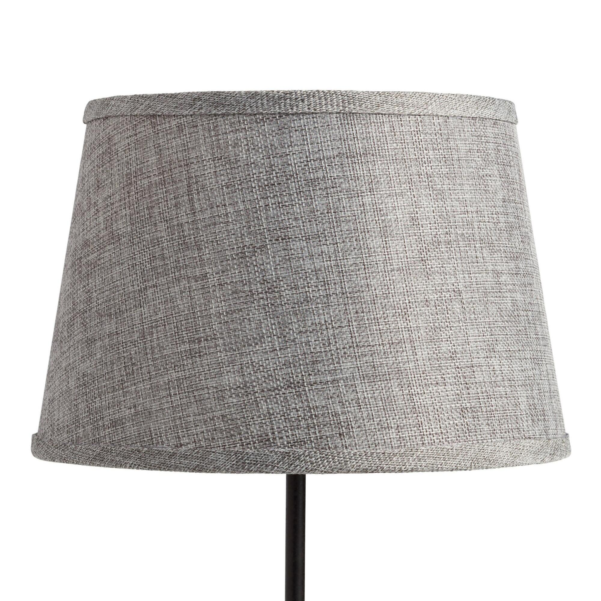 Gray Linen Accent Lamp Shade by World Market