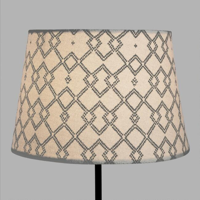 Black Diamond Nomad Accent Lamp Shade