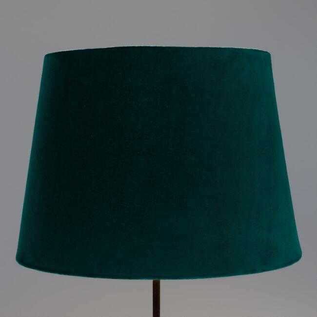 Everglade Teal Velvet Table Lamp Shade