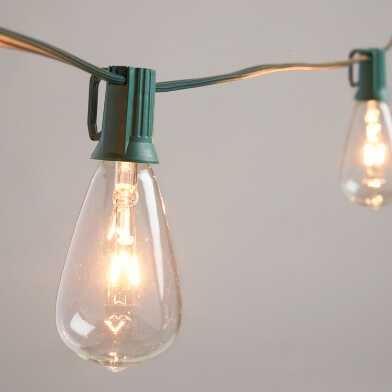 Edison Style String Light Replacement Bulbs Set of 4