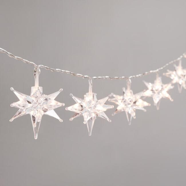 Starburst Micro LED Battery Operated String Lights