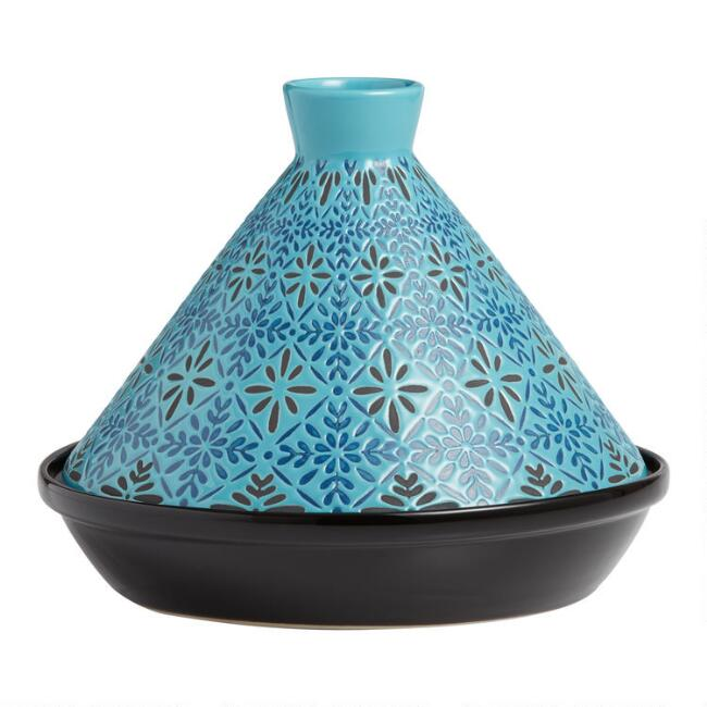 Blue Tile Terracotta Tagine