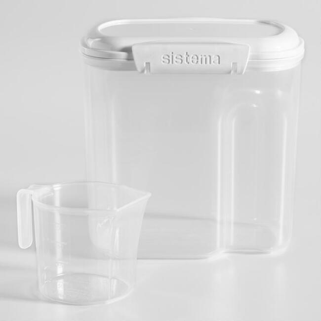Sistema Bake It Flour Storage Container with Cup