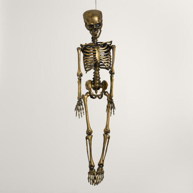 Gold Classic Hanging Skeleton