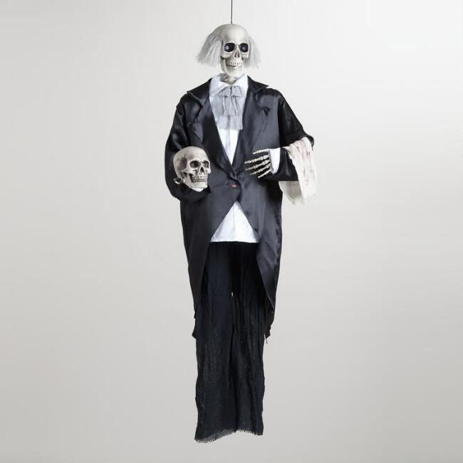 Hanging Butler Skeleton