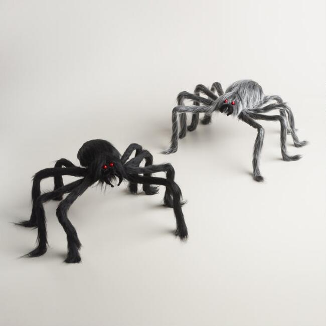Hairy Spiders Set of 2