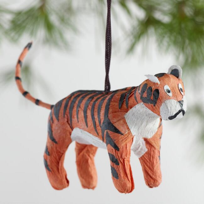 Paper Safari Animal Ornaments