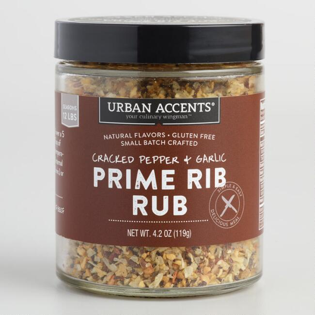 Urban Accents Pepper and Garlic Prime Rib Rub