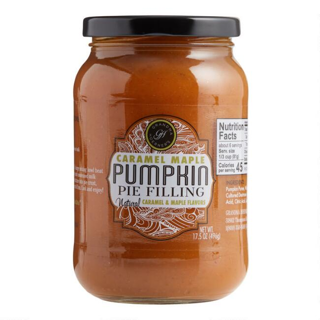 Grandma Hoerner's Caramel Maple Pumpkin Pie Filling