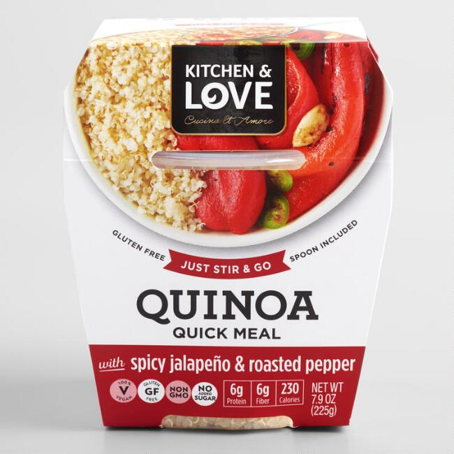 Cucina & Amore Spicy Jalapeño & Roasted Peppers Quinoa Meal
