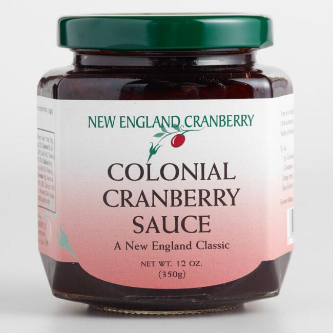 New England Colonial Cranberry Sauce