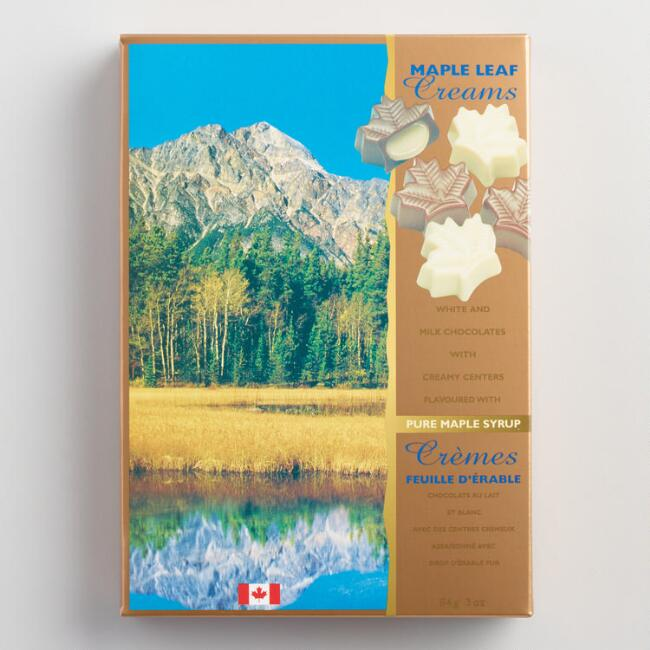 Canada True Maple Cream Chocolate Bar
