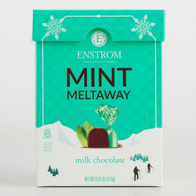 Enstrom Mint Meltaway Chocolate Box